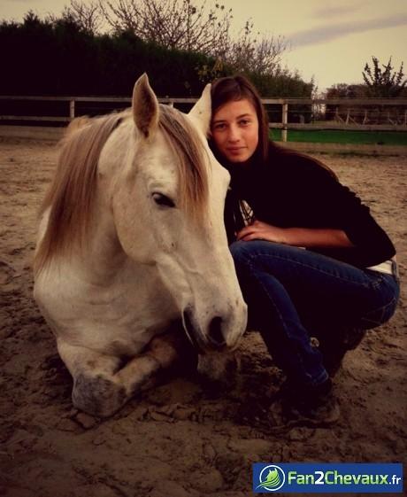 Coucher avec son cheval , que du bonheur *-* :