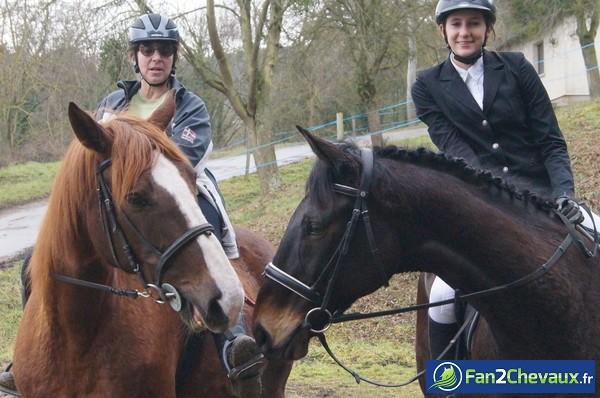 Nous voilà à la comptition de CSO : Photos du cheval des membres