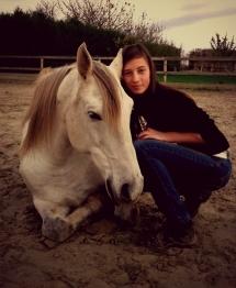 Coucher avec son cheval , que du bonheur *-*