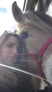 Moi et mon loulou :)